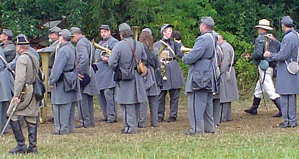 The 26th NC Band at Gettysburg 145th