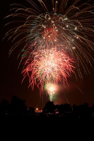IPFW fireworks 2013