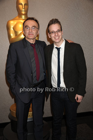 Danny Boyle and Matthew Hoerl<br /> The Academy of Motion Picture Arts & Sciences presents a conversation with director Danny Boyle held at the Academy Theatre<br /> Arrivals<br /> New York City, USA- 04-04-13<br />  photo  by Rob Rich © 2013 robwayne1@aol.com 516-676-3939