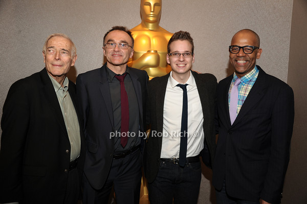 Bud Rosenthal, Danny Boyle,Matthew Hoerl, and Patrick Harrison  <br /> The Academy of Motion Picture Arts & Sciences presents a conversation with director Danny Boyle held at the Academy Theatre<br /> Arrivals<br /> New York City, USA- 04-04-13<br />  photo  by Rob Rich © 2013 robwayne1@aol.com 516-676-3939