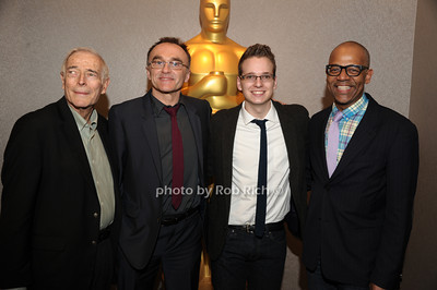 Bud Rosenthal, Danny Boyle,Matthew Hoerl, and Patrick Harrison   The Academy of Motion Picture Arts & Sciences presents a conversation with director Danny Boyle held at the Academy Theatre Arrivals New York City, USA- 04-04-13  photo  by Rob Rich © 2013 robwayne1@aol.com 516-676-3939