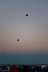 Dawn Patrol at end of twilight