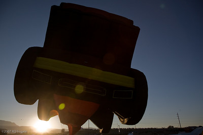 Wells Fargo Stage Coach at sunrise