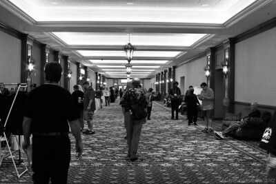 Early morning in the hallway. Thursday, July 12, 2012
