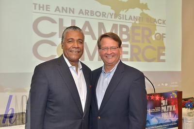 The Ann Arbor Ypsilanti Black Chamber of Commerce 2014 Political Forum