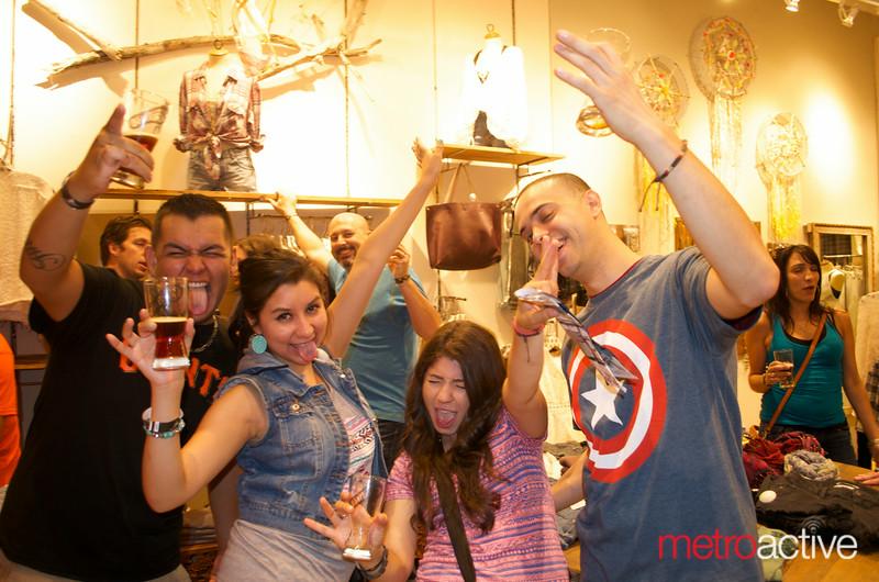 The Beerwalk at Santana Row<br /> photos by: Stephanie Guerrero