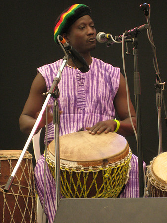 Next Up - ZubopGambia, Njega Sohna (djembe, talking drum, and vocals)