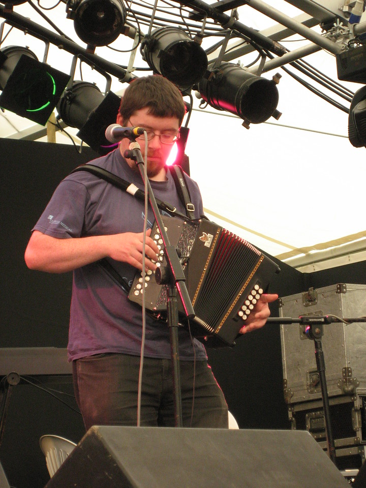 Tom Roche (button accordion) - he was hung-over