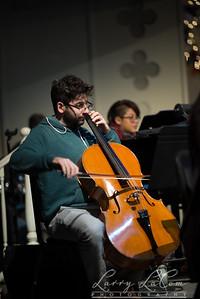 Dress rehearsal for the Bridge Bible Fellowship's Christmas concert, 2016