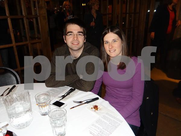 Alex Draeger and Sierra Schnetzer