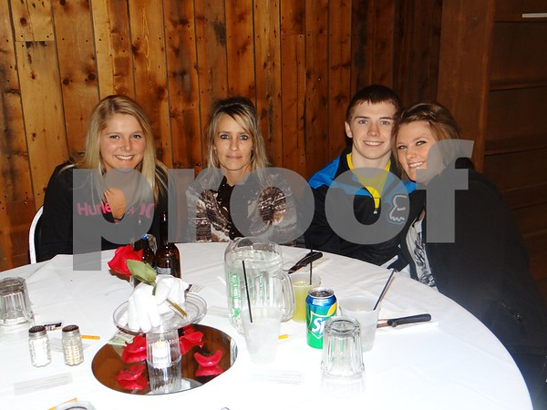 Allie McRady, Dani Rees, Thomas Rees, and Katie Ostbloom