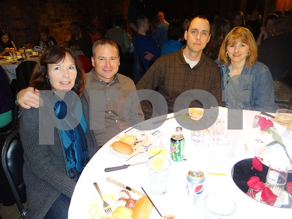 Sherry Carlson, Roger Carlson, Paul Lauger, and Char Lauger
