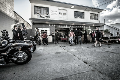 Cavaleros at Wheelies Motorcycles, 2014