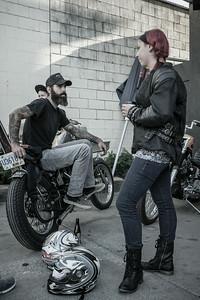 Cavaleros at Wheelies Motorcycles, 2014