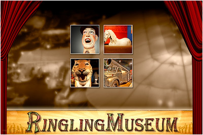 The Ringling Museum in Sarasota FL is a preservation of the history and culture of the Ringling Circus.