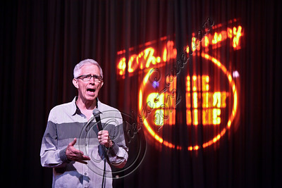 WEST HOLLYWOOD, CA - APRIL 21:  Comedian / weatherman Fritz Coleman performs at The Comedy Store's 40th anniversary celebration at The Comedy Store on April 21, 2012 in West Hollywood, California.  (Photo by Chelsea Lauren/WireImage)
