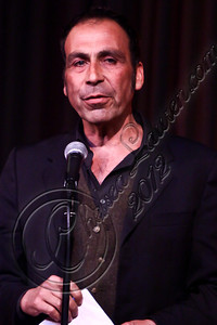 WEST HOLLYWOOD, CA - APRIL 21:  Comedian Taylor Negron performs at The Comedy Store's 40th anniversary celebration at The Comedy Store on April 21, 2012 in West Hollywood, California.  (Photo by Chelsea Lauren/WireImage)