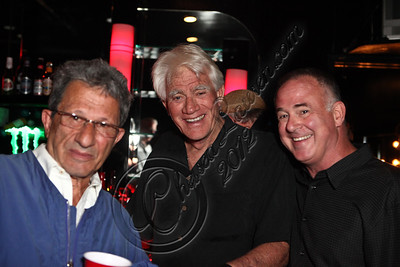 WEST HOLLYWOOD, CA - APRIL 21:  (L-R) Comedians Billy Braver, Tim Thomerson and Jeff Altman pose backstage at The Comedy Store's 40th anniversary celebration at The Comedy Store on April 21, 2012 in West Hollywood, California.  (Photo by Chelsea Lauren/WireImage)