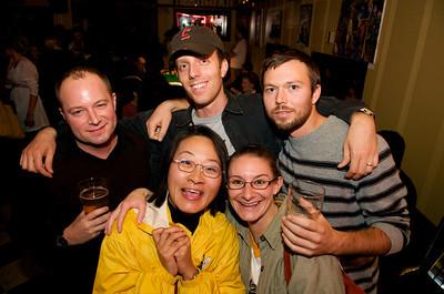 Back Row: Jody Bunn, Jeremy Neff, Robert Wall - Front Row: Kat Kuwahara and Karla Ruth