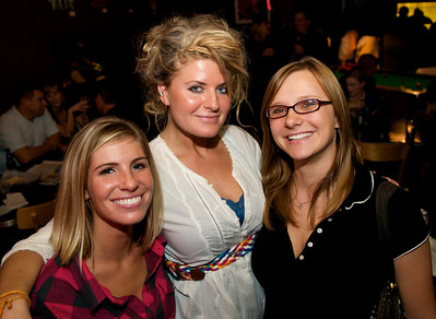 Brittany Battaglia, Merilee, and Brittany Huffman of Cincinnati
