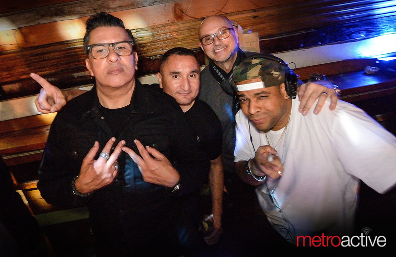 Sam Ramirez (L) celebrated his 50th birthday with family and friends at The Continental Bar Lounge & Patio - 18 Feb 2017