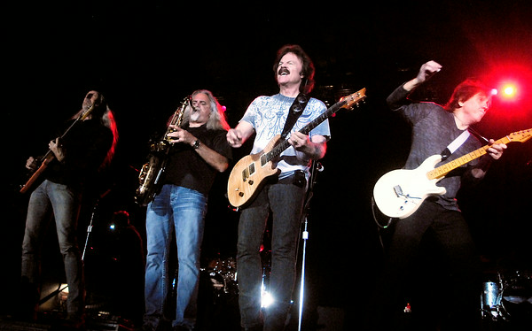 John P. Cleary | The Herald Bulletin<br /> The Doobie Brothers in concert at Hoosier Park.