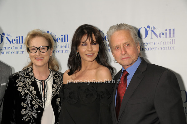 Meryl Streep, Catherine Zeta Jones, Michael Douglas<br /> photo by Rob Rich/SocietyAllure.com © 2014 robwayne1@aol.com 516-676-3939