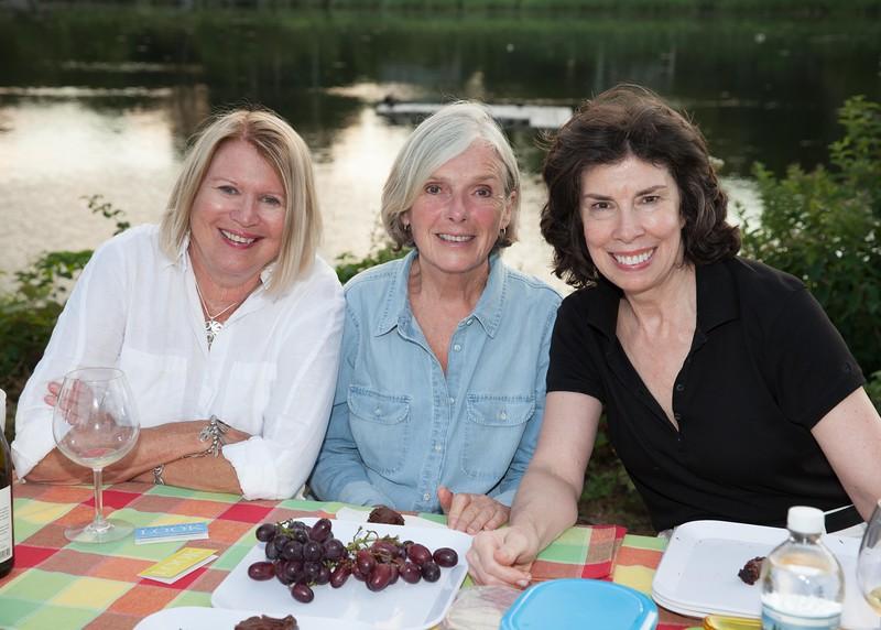 IMG_1237 Eileen Brown, Joan Phares and Laura McCormick