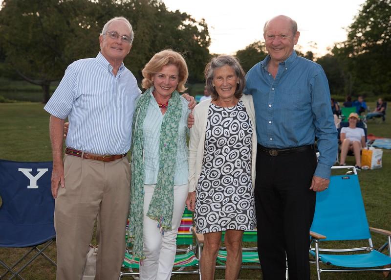 IMG_1264 Jim Butler, Maria Melville, Margot Butler and Nigel Melville