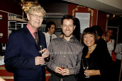 Jacques Lieberman, Brian Colton and Marie Belle Lieberman