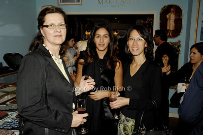 Barbara Scharf, Loubna Choug and Nancy Ng