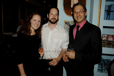 Michelle Seligman, Kfir Weinraub and George Costa