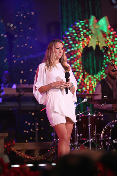 Colbie Caillat performs at The Grove's 2011 Christmas Tree Lighting Ceremony