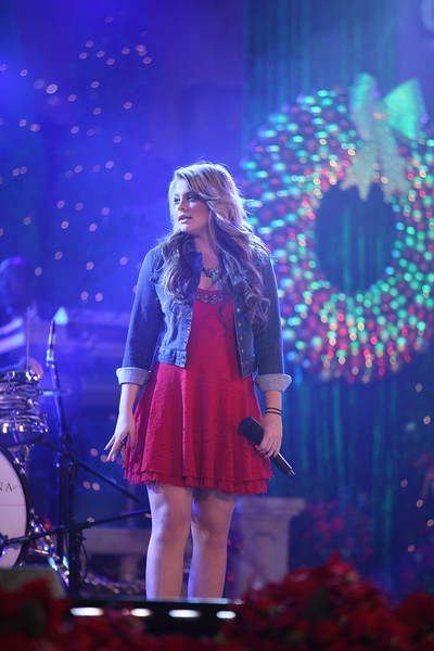 Lauren Alaina performs at The Grove's 2011 Christmas Tree Lighting Ceremony