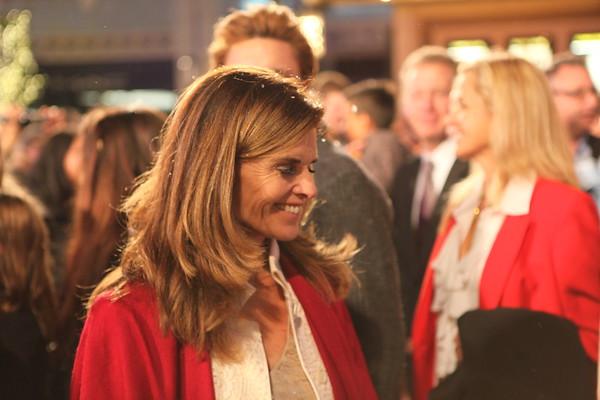 Maria Shriver attends The  Grove's 2011 Christmas Tree Lighting Ceremony