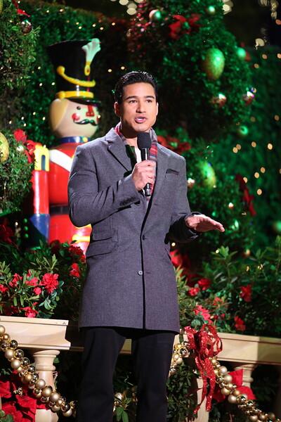 Mario Lopez MC's at The Grove's 2011 Christmas Tree Lighting Ceremony