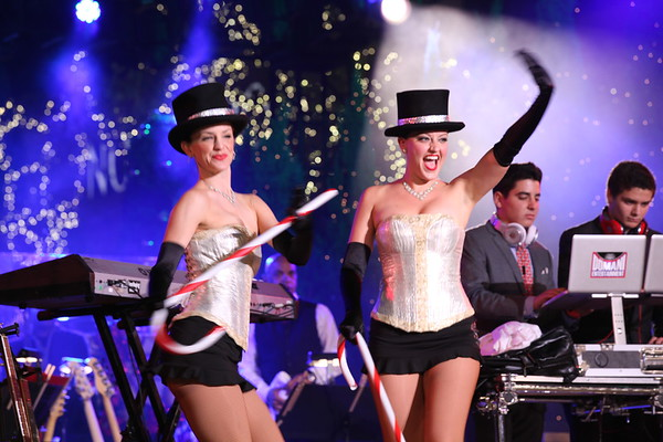 The Top Hats perform at The Grove's 2011 Christmas Tree Lighting Ceremony
