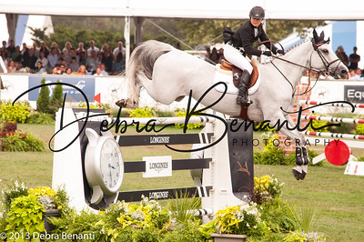 Georgina Bloomberg The Hampton Classic 2013