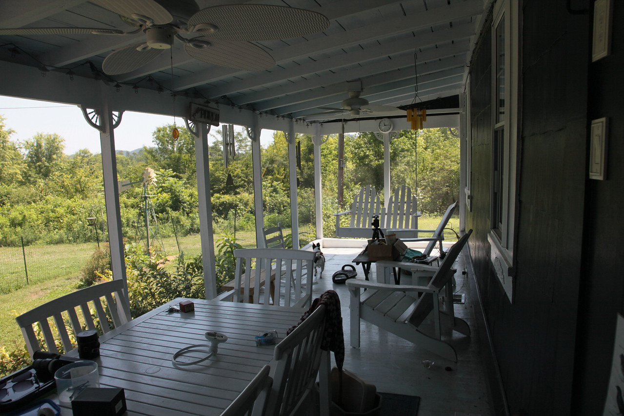 The old porch 2009?