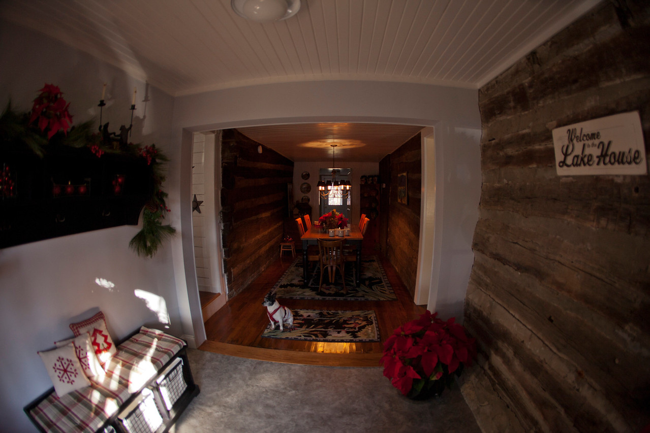 The new Entrance to the Dinning Room