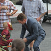 "Robert Downey Jr on the set of ""The Judge"" in Dedham, Massachusetts, on July 12, 2013."