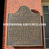 """Plaque used as a prop in """"The Judge,"""" set in the fictional town of Carlinville, Indiana, during filming in the Massachusettts village of Shelburne Falls"""