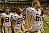 New Orleans Saints 1st pre- season game after winning Super Bowl