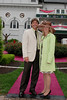 Chuck and Jenny outside Churchill Downs<br /> <br /> Kentcuky Oaks 135