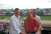 Nick, Malcolm and Pat at the Track<br /> <br /> Kenytucky Oaks 135
