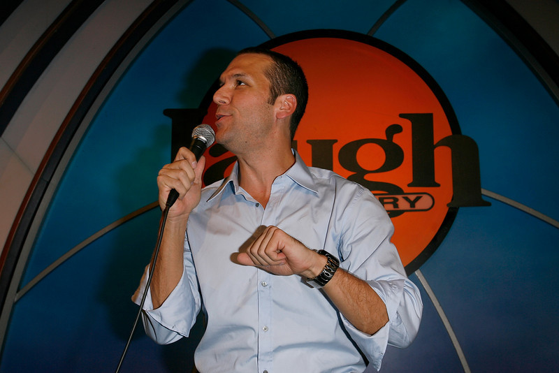HOLLYWOOD - SEPTEMBER 09:  Actor Dane Cook performs at The Laugh Factory's 24th Annual Comedy Camp Graduation and Performances at The Laugh Factory on September 9, 2008 in Hollywood, California.  (Photo by Michael Bezjian/WireImage) *** Local Caption *** Dane Cook