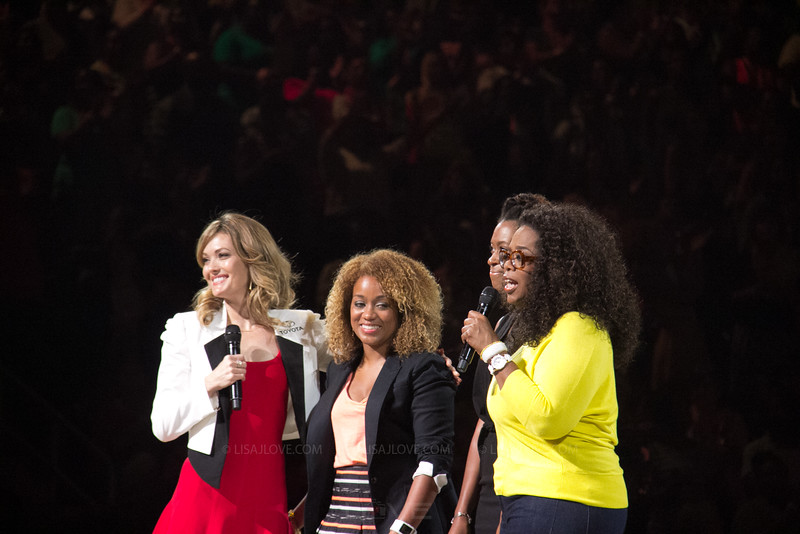 Oprah, amy purdy and the founders of Black Girls run