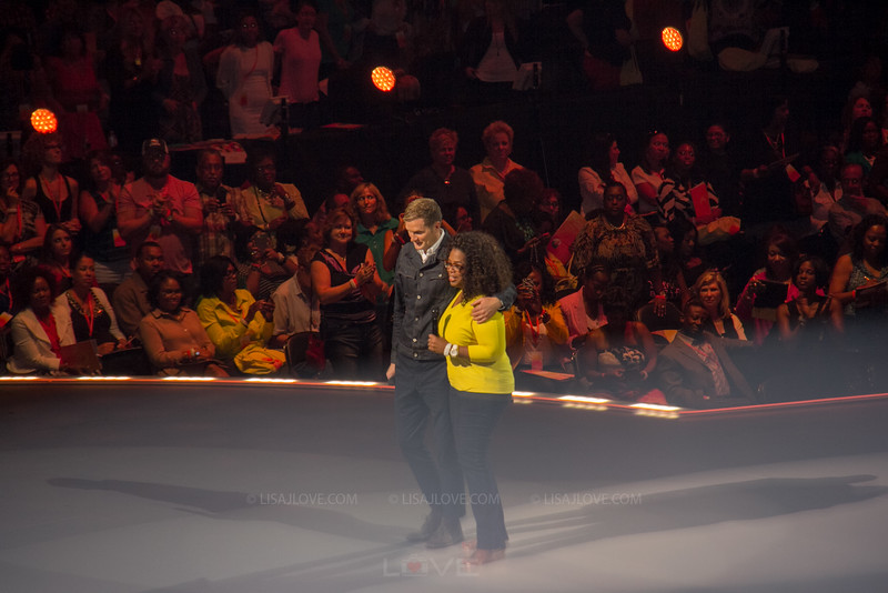 Pastor Rob Bell; Oprah Winfrey