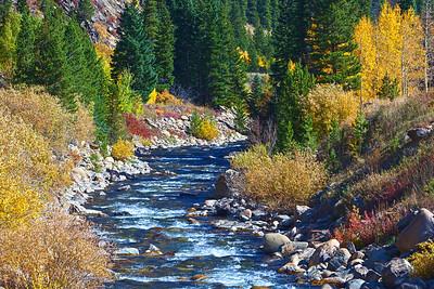 South Boulder Creek in Autumn