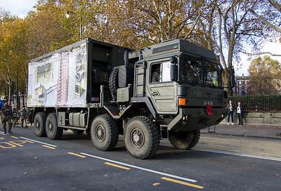 "MAN 15-tonne SV Cargo Vehicle ""British Army"""